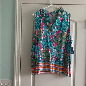 NWT Large crown and ivy women tank